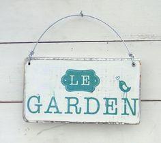 Cartel vintage | Le garden