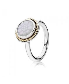Pandora Mother Of Pearl Rings Cheap Sale