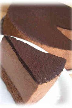 濃厚ムースのチョコレートケーキ☆の画像