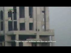May 6, 2013 - VIDEO - SNIPERS - WAR CRIMES: REGIME - SHOOTING CIVILIANS - A cameraman documents the occupation of Gardenia Tower by Assad snipers in Homs. Dozens of regime snipers occupy towers and residential building rooftops across cities in Syria, imposing a mandatory curfew and terrorizing civilians.