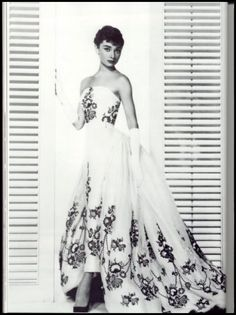The Sabrina dress.  Absolutely one of the most beautiful gowns ever.  IMHO!