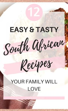 12 South African Dinner Recipes - Best Traditional South African Food Dishes To Try - Clary South African Dishes, South African Recipes, Low Carb Dinner Recipes, Oven Recipes, Keto Dinner, Easy Recipes, Recipies, Mutton Curry Recipe, Food Dishes