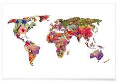It's your world als Premium Poster von Bianca Green   JUNIQE