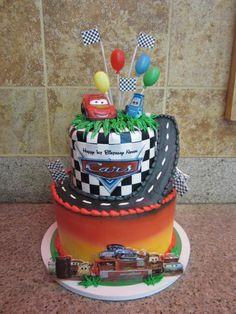 cars custom cake