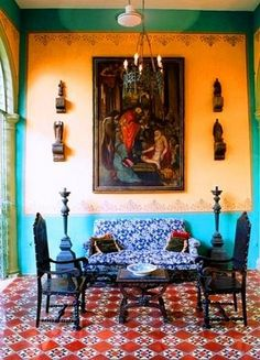 Decorating In Old Spanish Colonial Style – decoration,wood,wood working,furniture,decorating Spanish Style Interiors, Spanish Style Bathrooms, Spanish Style Homes, Spanish House, Spanish Colonial Decor, Spanish Revival, Spanish Style Decor, Colonial Decorating, Mexican Interior Design