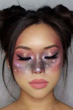 Celestial Makeup Is Up 158% on Pinterest — and It's Perfect For Halloween #beauty #makeup