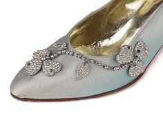 Aris Allen Damen Schwarz 1920er Satin D 'Orsay Dance Schuhe