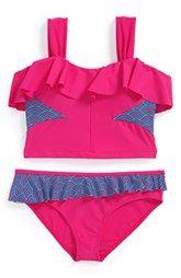 Limeapple 'Bermuda' Two-Piece Swimsuit (Little Girls & Big Girls)
