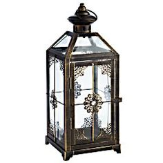 Lanterns as centerpieces! My search begins. 2 bought, about 18 more to find!