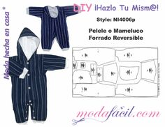 Free download molds wimp or reversible romper for babies available in 12 sizes every 3 months to 3 years Ready to Cut