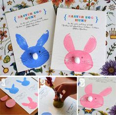 this is a cute idea to make for your kids if you are having an Easter egg hunt