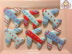 Airplanes cookies