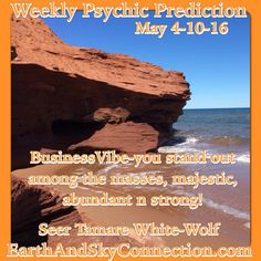 Weekly Psychic Prediction  May 4-10-16  Seer Tamare White-Wolf Business - you are a bright shiny star this week and there is nothing left to do in order to get attention and adoration. You've worked very hard for the position you're in your competition is no longer any real competition. Something very special is likely to happen this week to fully secure you and your finances in a long-term way. You've been waiting for this and secretly...click visit for more. #TamareWhiteWolf #Psychic #Seer