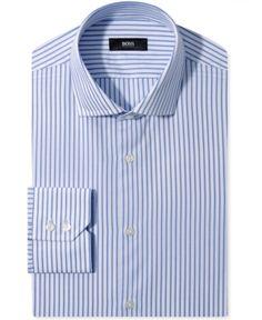 #Hugo Boss #Men #BOSS #Black #Dress #Shirt, #Blue #Stripe #Long-Sleeved #Shirt BOSS Black Dress Shirt, Blue Stripe Long-Sleeved Shirt http://www.seapai.com/product.aspx?PID=5474366