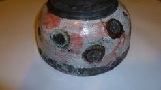 White and red glazes and copper oxide raku