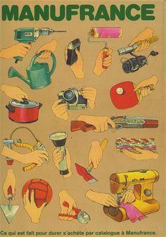 Le catalogue Manufrance, une institution. mes parents commandait tout chez eux!de qualité !!