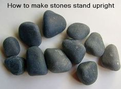 Painting Rock & Stone Animals, Nativity Sets & More: How to Make Stones Stand Upright and Expand Your Rock Painting Possibilities
