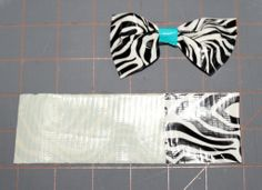 Just made a bow and purse for the girl that has everything!