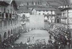 Leitzako plazan aizkoran 1917