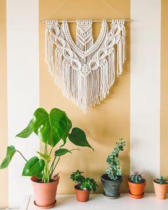 Custom Wall, Boho Decor, Macrame, Artisan, Soap, Building, How To Make, Buildings, Craftsman