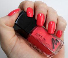 AngelsBeautyLove: Weekly nails mit Manhatten Last&Shine Nagellack -6...