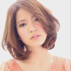 #hairstyle #bob #perm #medium #Japanese