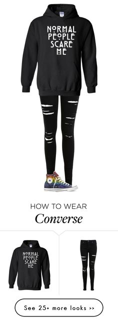 """Untitled #1179"" by kayla3n on Polyvore featuring Miss Selfridge and Converse"