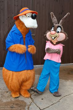 *BR'ER BEAR & BR'ER RABBIT ~ from the movie: SONG of the SOUTH, 1946