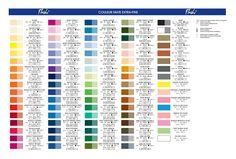 Paint Color Chart, Paint Colors, Bar Chart, Palette, Painting, Image, Ideas, Paint Colours, Painting Art