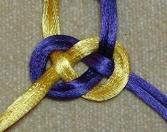 Finished Double Josephine Knot