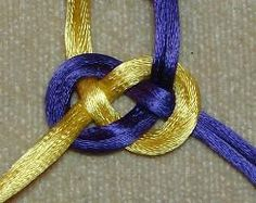 Double Josephine Knot Tutorial for necklaces...a bunch of other step by step pictures and instructions too!
