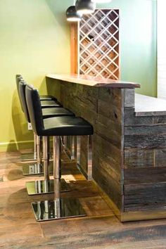 Reclaimed Wood Bar on Etsy, $6,983.79