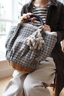 ebagos bag . textile . basket . L'Ecume des Jours mars 2