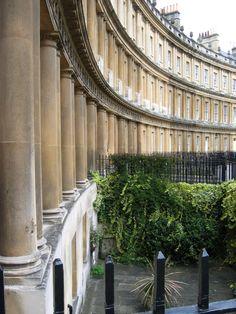 Royal Crescent Bath UK