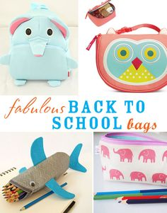 Fabulous Back to School Bags | @kimbyers TheCelebrationShoppe.com