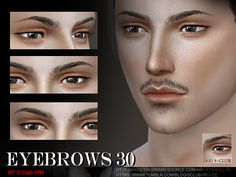 S-Club LL thesims4 Eyebrows 30M