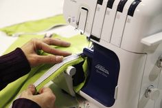 Maximize your serger's potential by learning clever finishing and decorative techniques