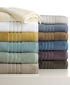 Hotel Collection bath towels from Macy's  Have had these for four years, and they're still fabulous!