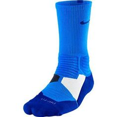 THE GAME'S BEST SOCK, PERFECTED. Featuring enhanced cushioning that responds to your movements, the Nike Hyper Elite Basketball Crew Socks deliver excellent impact protection. Sweat-wicking, compressi