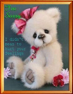 Say your sorry to anyone with this cute ecard.