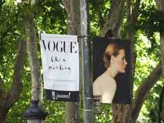 "Cartel de la Exposición ""Vogue like painting"" en el Museo Thyssen Bornemisza de Madrid. #Cartel #Affiche #Arterecord 2015 https://twitter.com/arterecord"
