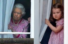 Princess Charlotte Is the Queen's Mini-Me in Her New School Photos!