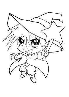 Målarbilder Manga 6