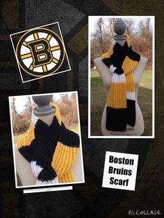 Boston Bruins Scarf