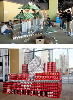 Canstruction Vision