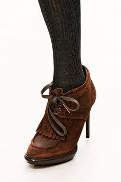 Burberry Prorsum - love these shoes for winter!