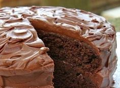Hot Water Devils Food Cake Recipe