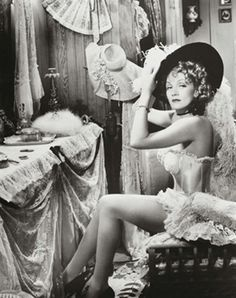 Marlene Dietrich as Frenchy in Destry Rides Again