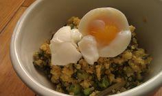 Quinoa with Beet Greens & Lemon (Gluten Free, Dairy Free)