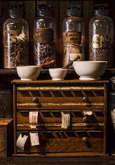 My favorite part of New Orleans was the pharmacy museum. Photograph by Heather Applegate